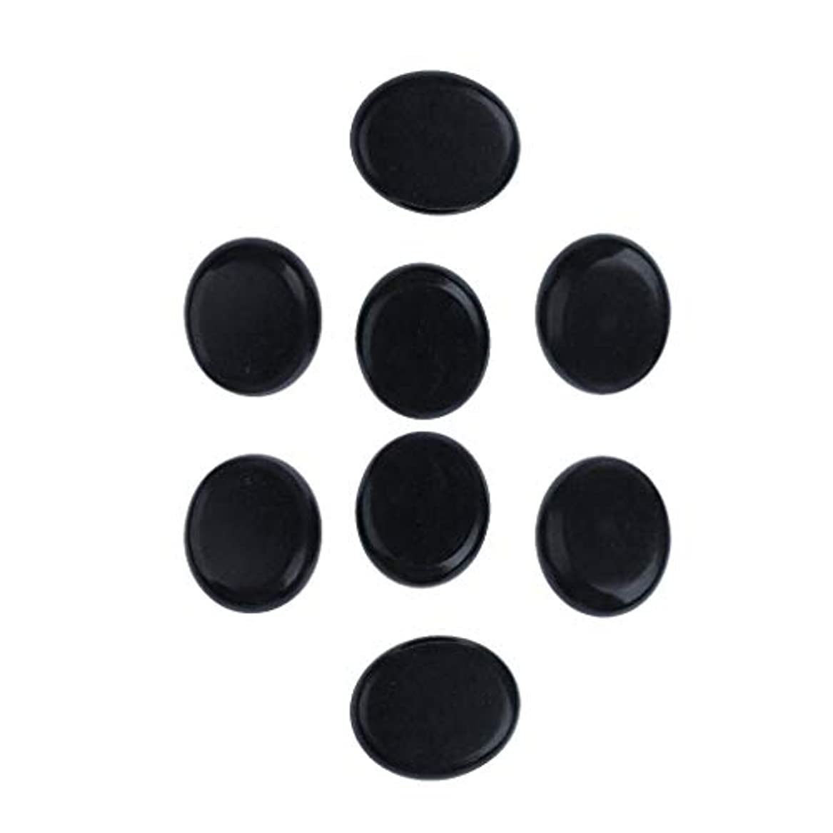 プラットフォーム豊かにする順番SM SunniMix マッサージ石 マッサージストーン 天然石ホットストーン 火山岩 マッサージ用 スパ 8ピース