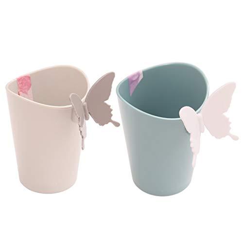 YSNJXB 歯ブラシカップ カップル歯ブラシカップクリエイティブかわいいウォッシュカップホームシンプルマウスカップ歯カップファッション性格ブラッシングカップ2パック 浴室、屋外、携帯用、旅行、家の装飾 (Size : D)