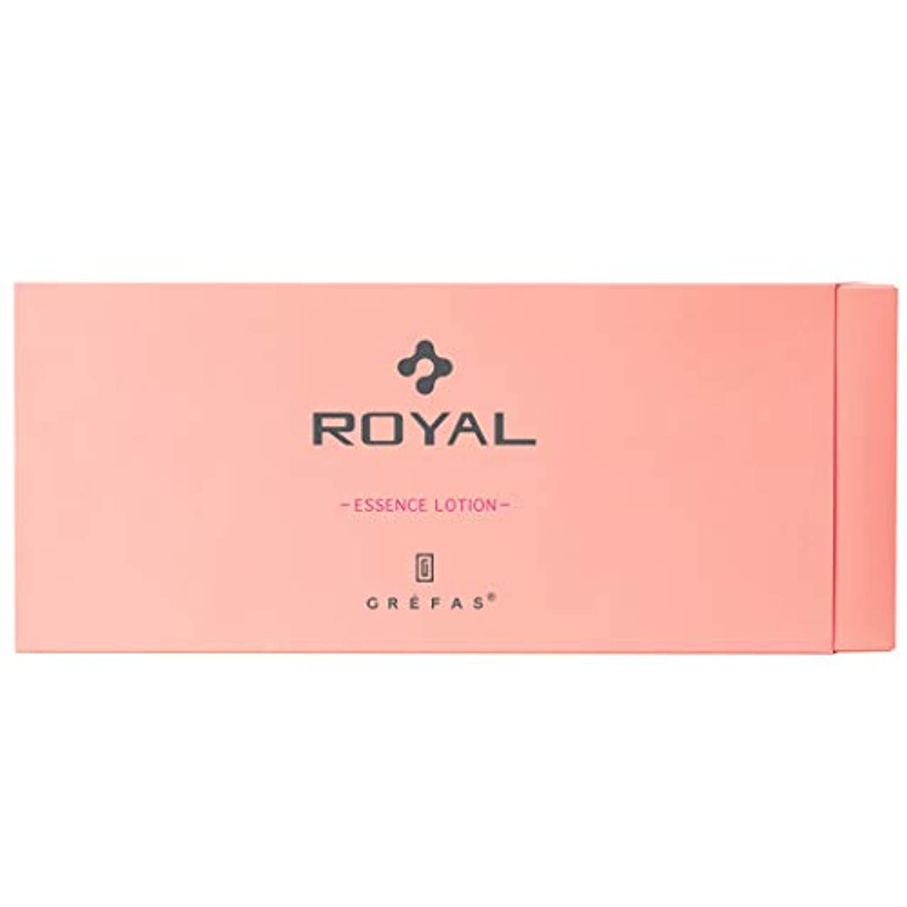 酸カタログ送るGREFAS ROYAL【グレファスロイアル】化粧水 エッセンスローション プラセンタエキス 1.3ml×90袋