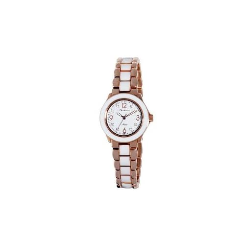 Miss Sixty ミスシックスティー Ladies Watch Stt002 In Collection Bicolor, 2 H and S, Silver Dial and レッド Strap レディス 女性用 腕時計: 腕時計[並行輸入品]