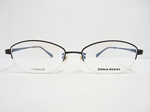 SONIA RYKIEL(ソニア・リキエル)  メガネ 67-0087 col.04 52mm 【Nikon薄型非球面(1.60)レンズ付き ※伊達メガネ・度付きメガネも対応】 【メガネのハヤミセリート付き】
