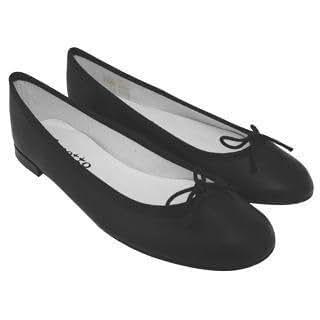 (レペット)Repet レペットレディースシューズ ベベ レペットバレエシューズ 靴 V086VA 410 NOIR 39.5 [並行輸入品]