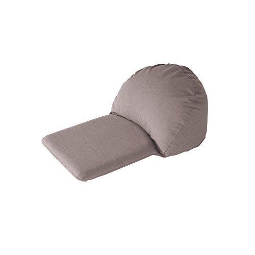 RoomClip商品情報 - 麻混素材のカバーリング式うたた寝クッション  ブラウン 小