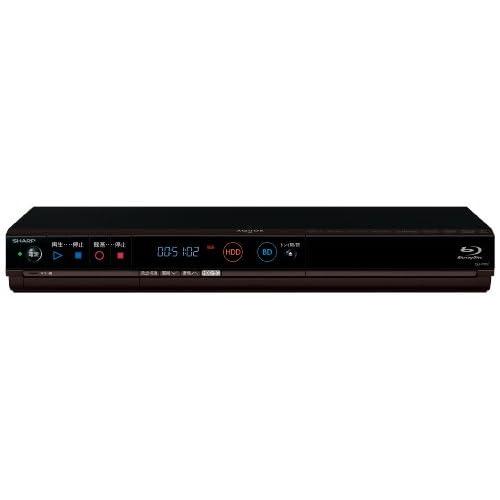 SHARP AQUOS ブルーレイディスクレコーダー 500GB ダブルチューナー 3D対応 かんたんシリーズ BD-HW51