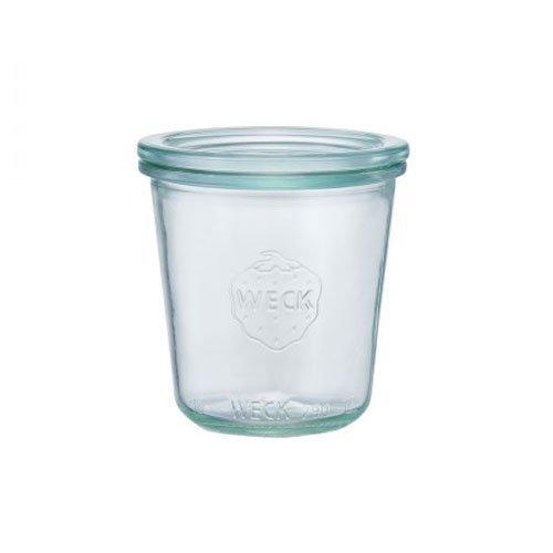 WECK Mold Shape ガラスキャニスター 250ml WE-900