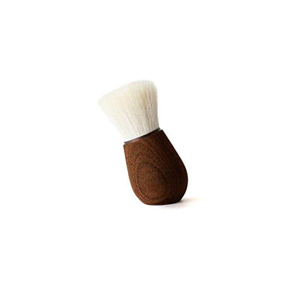 気味の悪い厚いナット熊野筆 「SUVÉ」 フェイスクレンジングブラシ