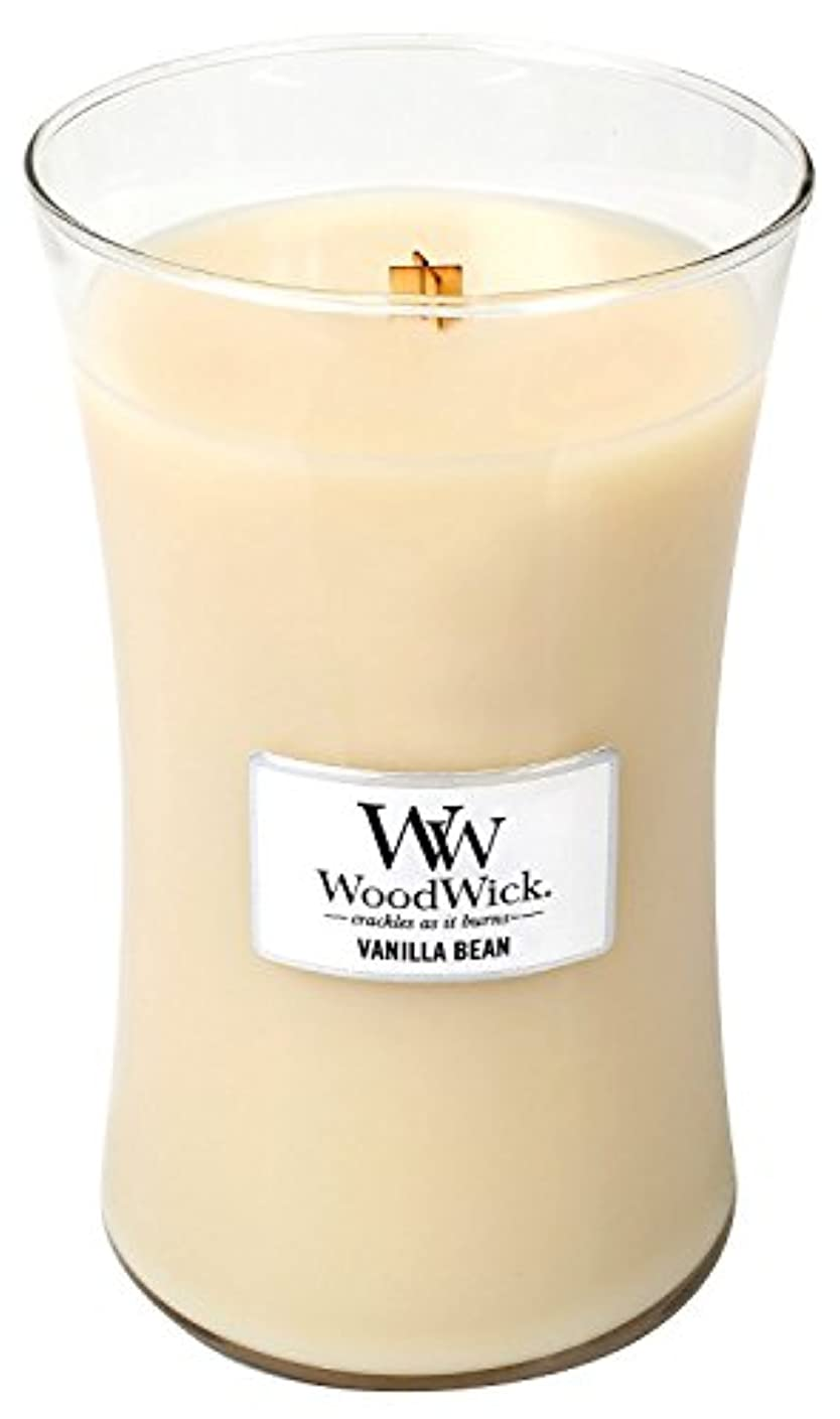 学士世辞ミュージカルVanilla Bean Woodwick Jar Candle – 21.5オンス