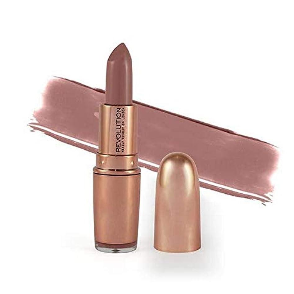 戦い足枷女性[Revolution ] 革命は、金口紅の運転手3.2グラムをバラ - Revolution Rose Gold Lipstick Chauffeur 3.2G [並行輸入品]