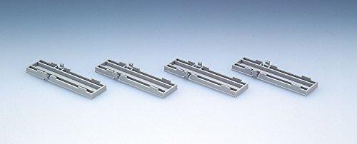 Nゲージストラクチャー 複線レール橋脚スペーサー (4個入) 3074