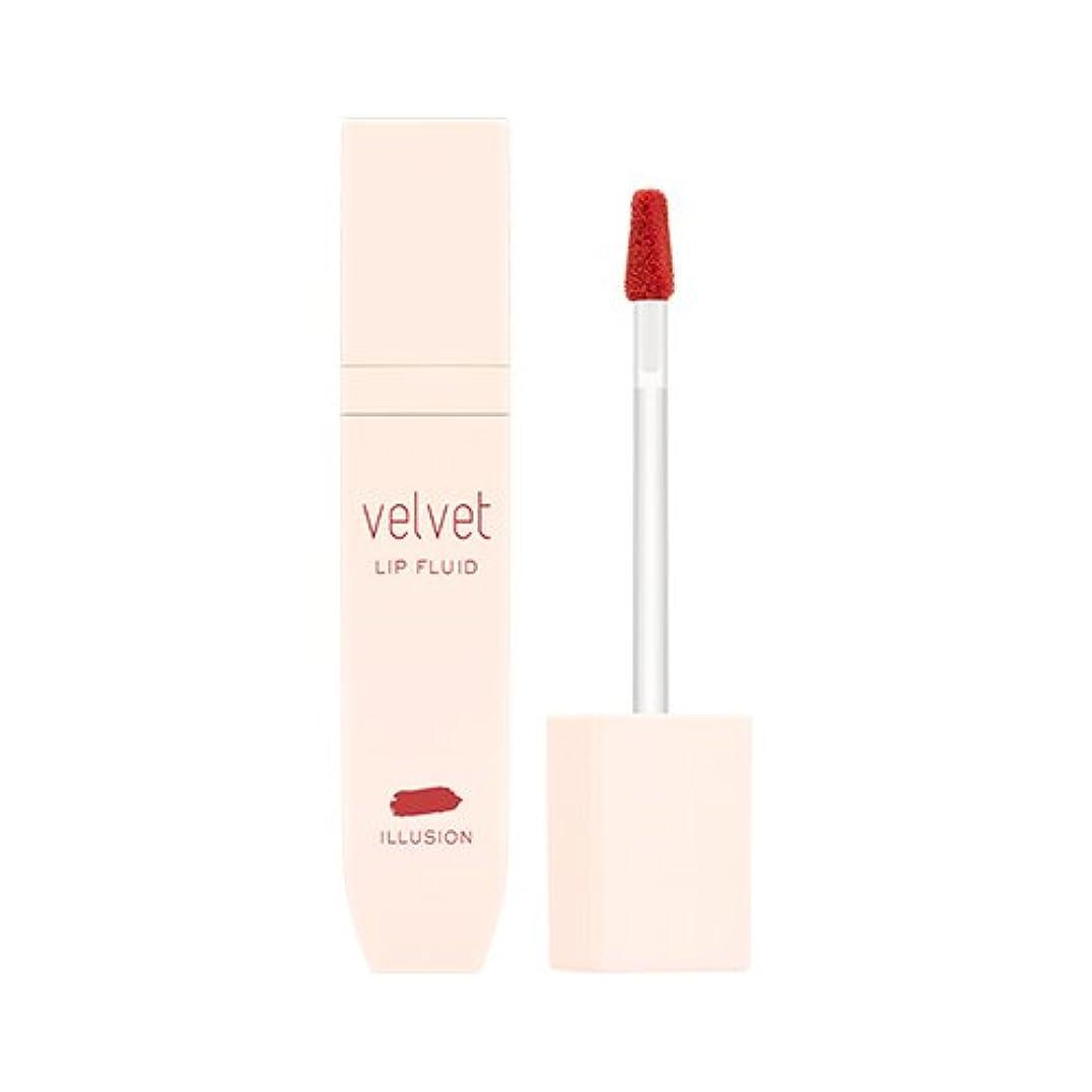 ファイアルバンジージャンプ赤面MISSHA Velvet Lip Fluid #Illusion / ミシャ ベルベットリップフルイド #イリュージョン [並行輸入品]