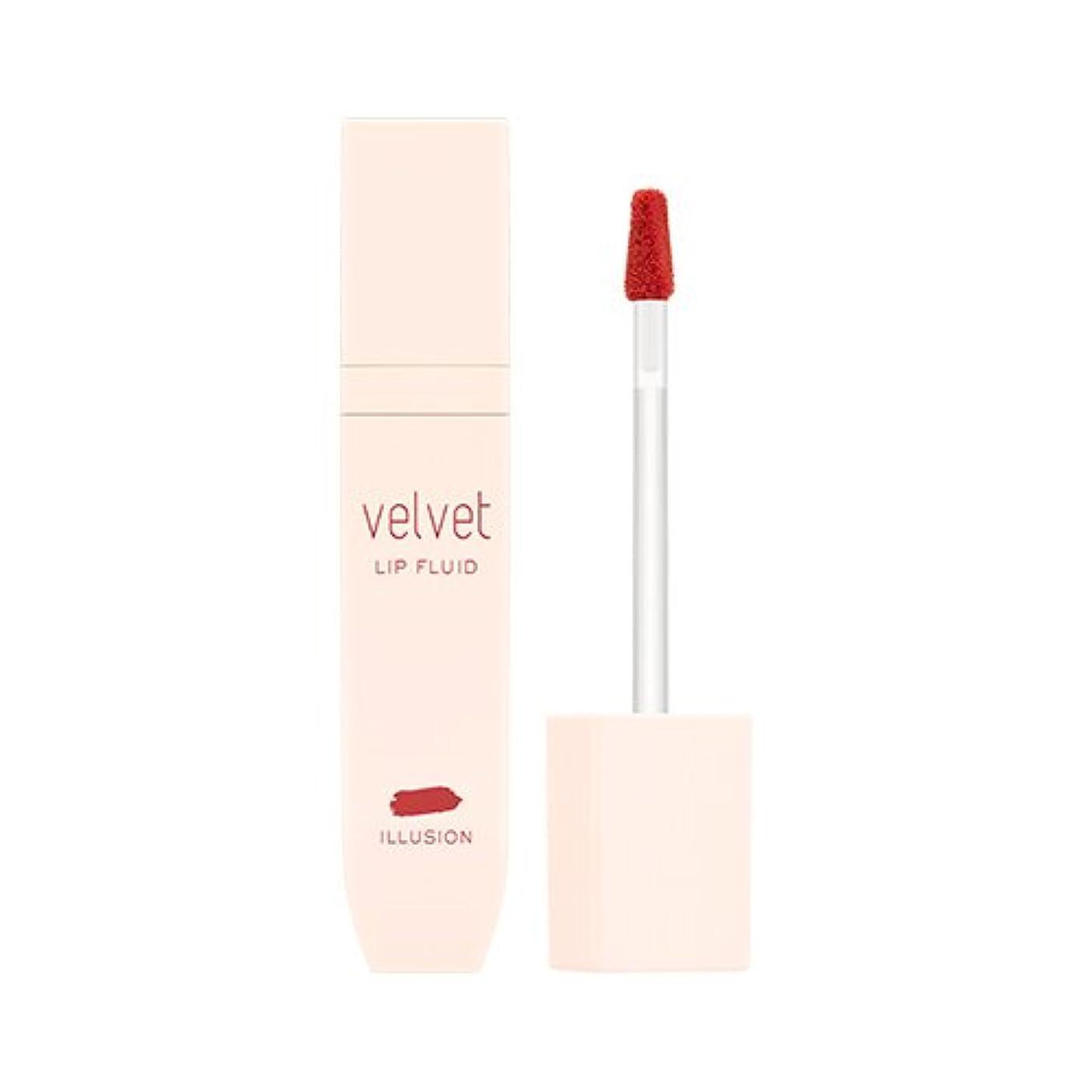 失敗定説尊敬MISSHA Velvet Lip Fluid #Illusion / ミシャ ベルベットリップフルイド #イリュージョン [並行輸入品]
