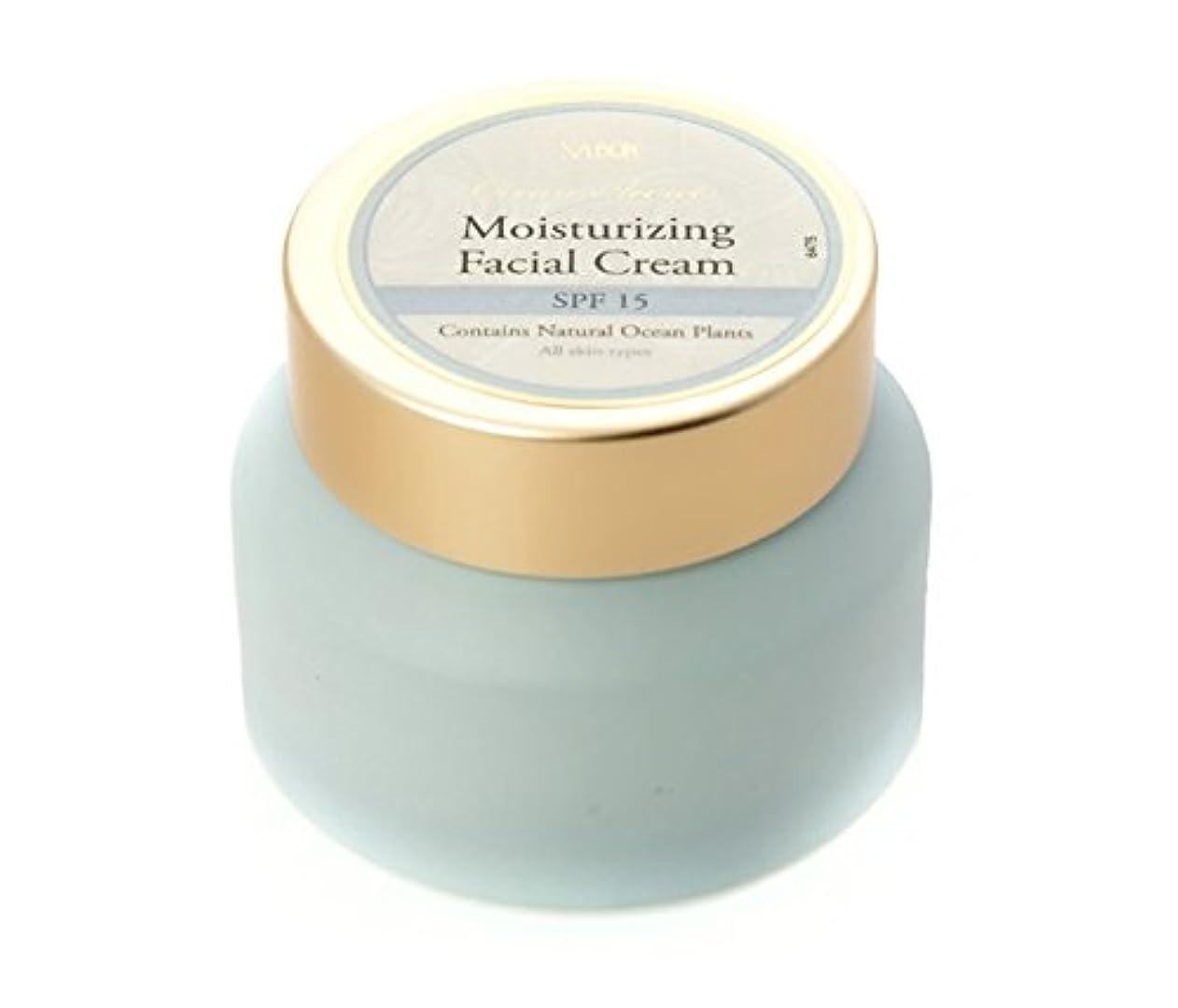 道徳教育コットンのり【SABON(サボン)】モイスチャライジング フェイシャルクリームSPF15(Ocean Secrets AP Moisturizing Facial Cream SPF 15)イスラエル発 並行輸入品 海外直送