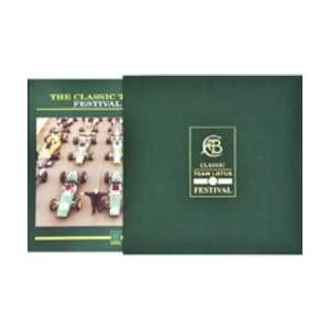 Classic Team Lotus Festival Album with Box クラシックチームロータス・フェスティバル・アルバム ボックス入り