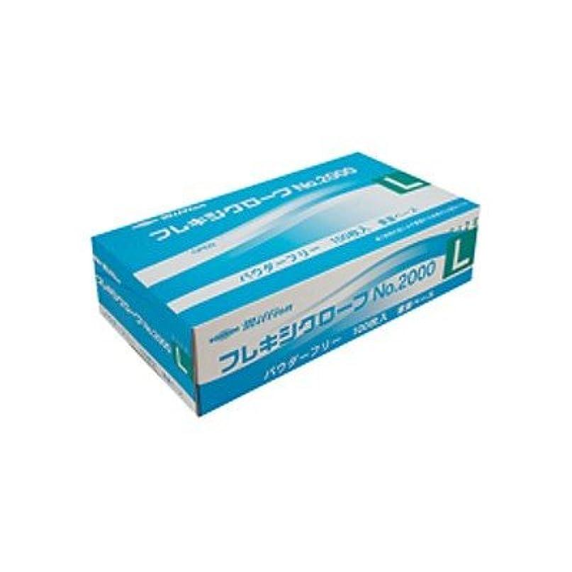 ミリオン プラスチック手袋 粉無No.2000 L 品番:LH-2000-L 注文番号:62741620 メーカー:共和