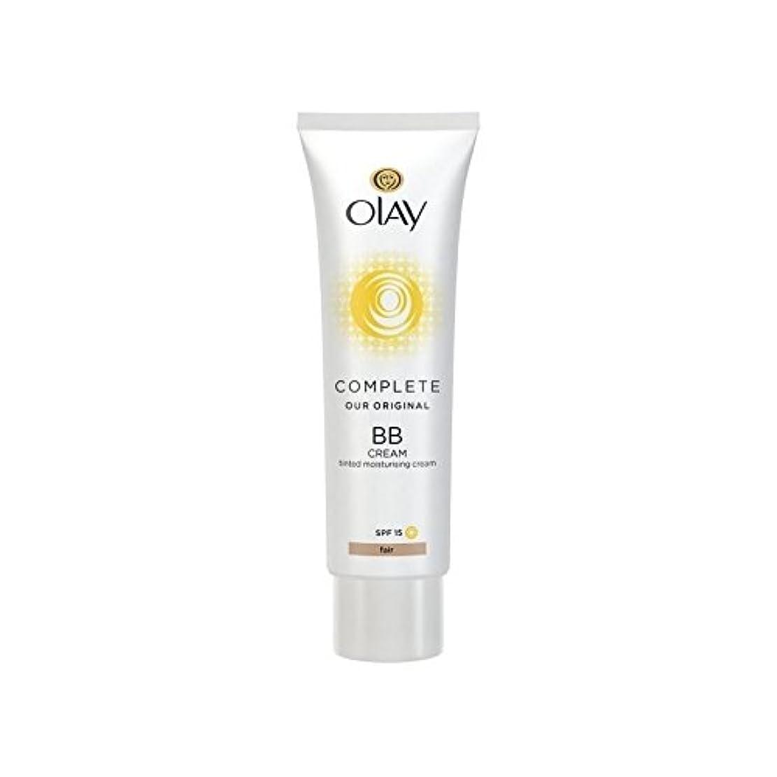 国民投票泥乳オーレイ完全なクリーム15フェアの50ミリリットル x4 - Olay Complete BB Cream Fair SPF15 50ml (Pack of 4) [並行輸入品]