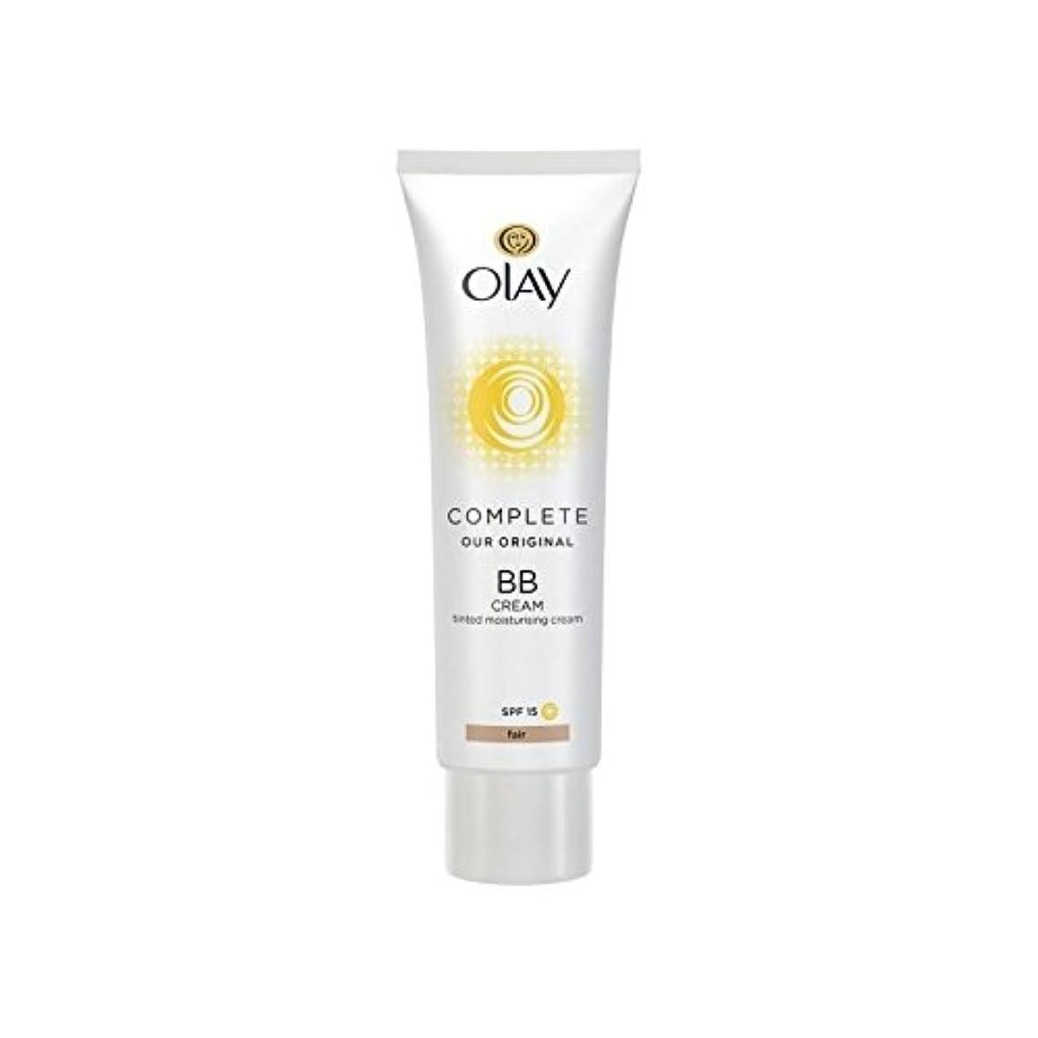テザー視線凝視オーレイ完全なクリーム15フェアの50ミリリットル x2 - Olay Complete BB Cream Fair SPF15 50ml (Pack of 2) [並行輸入品]