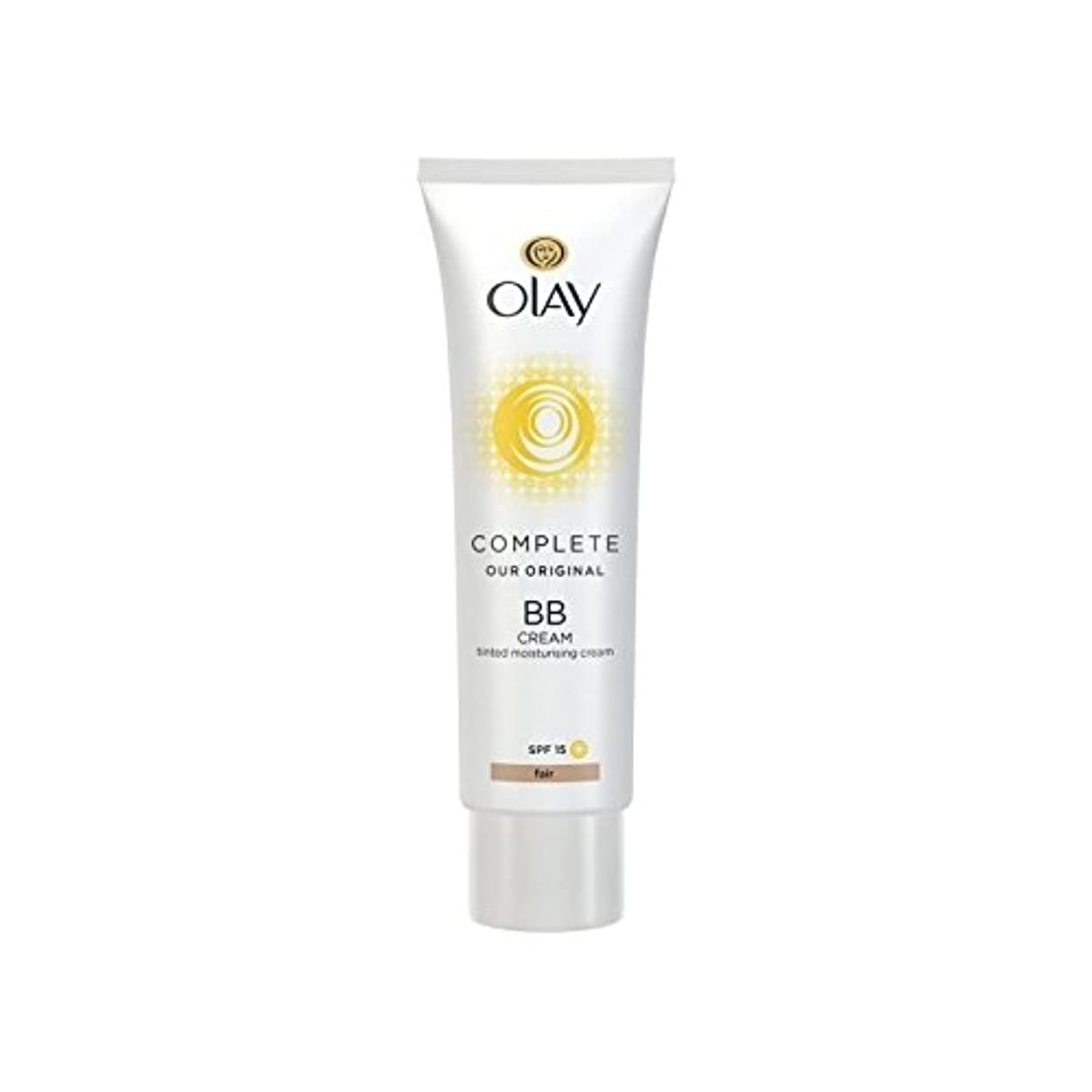 オーレイ完全なクリーム15フェアの50ミリリットル x4 - Olay Complete BB Cream Fair SPF15 50ml (Pack of 4) [並行輸入品]