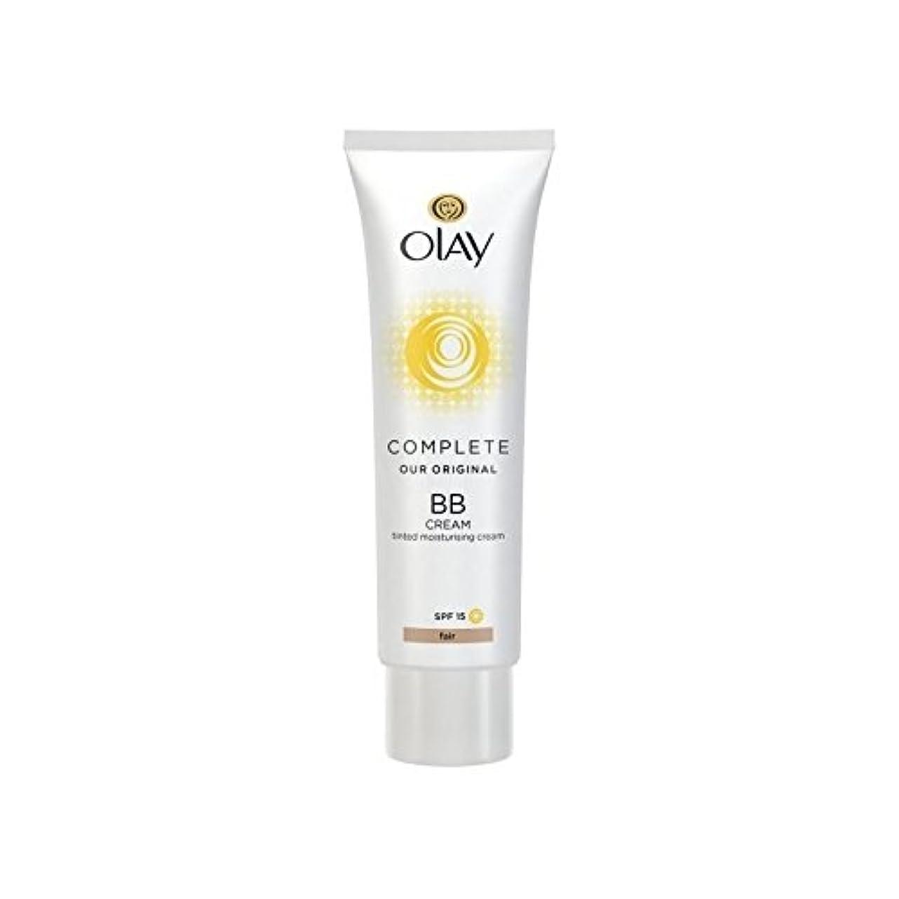 信号クリックあなたはオーレイ完全なクリーム15フェアの50ミリリットル x2 - Olay Complete BB Cream Fair SPF15 50ml (Pack of 2) [並行輸入品]