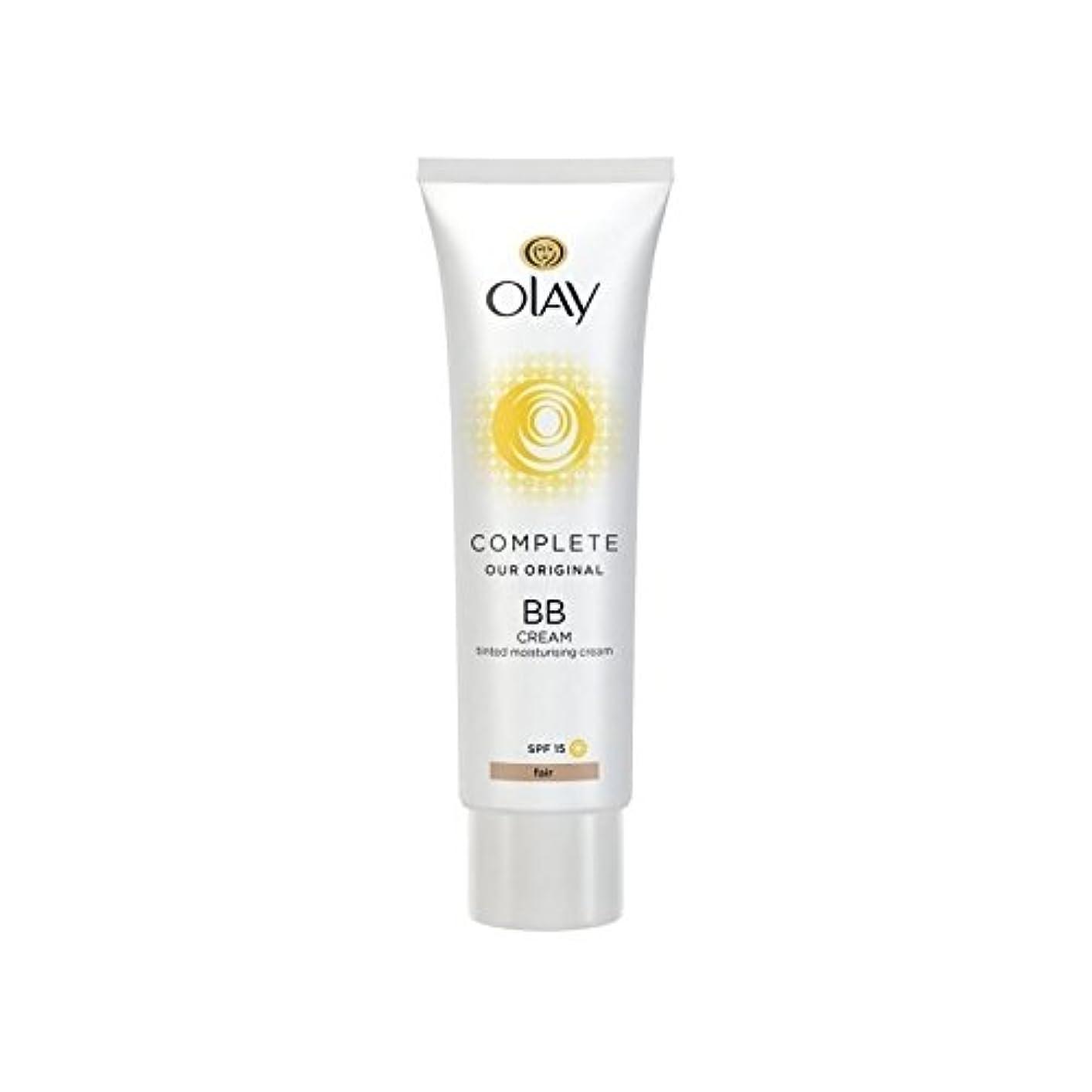 適切な種をまく風刺オーレイ完全なクリーム15フェアの50ミリリットル x2 - Olay Complete BB Cream Fair SPF15 50ml (Pack of 2) [並行輸入品]