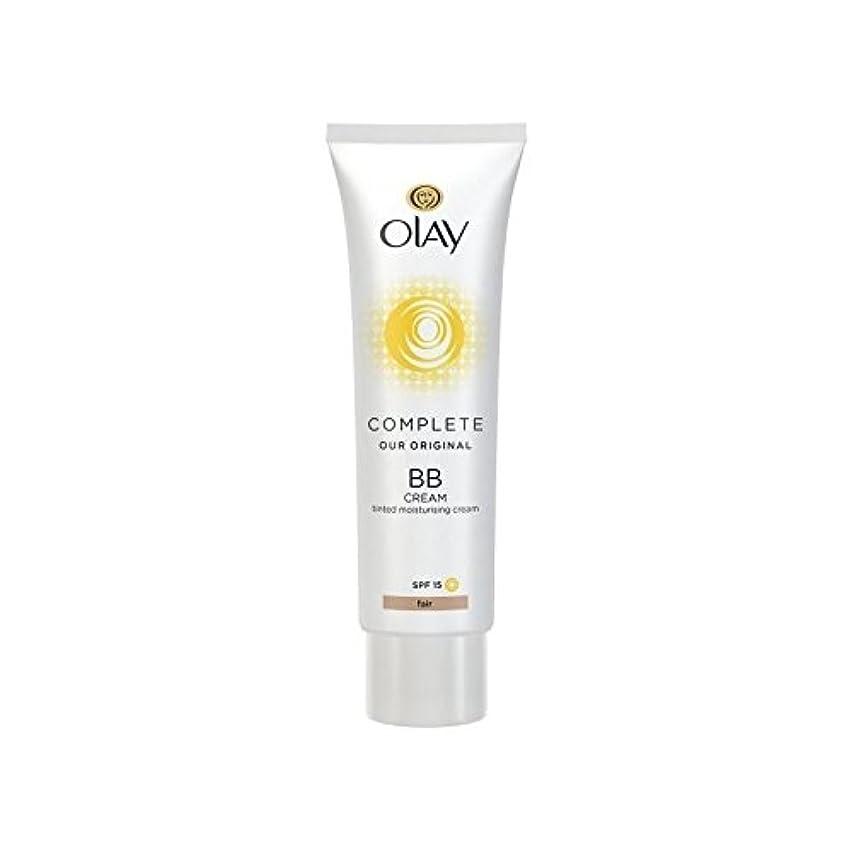 眼支援風変わりなオーレイ完全なクリーム15フェアの50ミリリットル x4 - Olay Complete BB Cream Fair SPF15 50ml (Pack of 4) [並行輸入品]