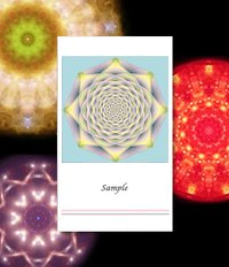 是正する戻る想像力クスリエ 愛の結晶 名刺サイズカード
