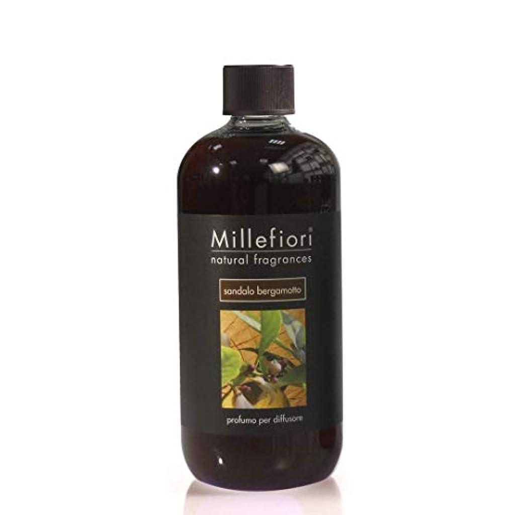ポゴスティックジャンプ付ける下品ミッレフィオーリ Natural Fragrance Diffuser Refill - Sandalo Bergamotto 500ml/16.7oz並行輸入品
