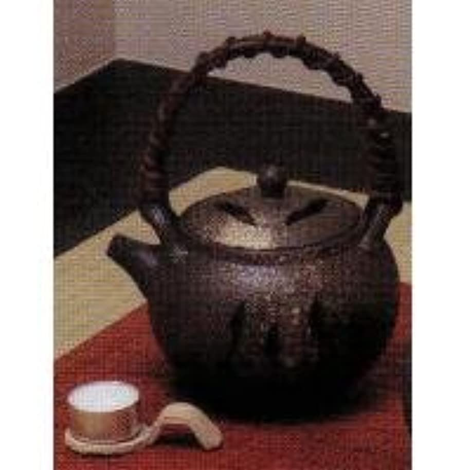 調整可能奨励します代数SS-P6099-01 白窯肌土瓶型茶香炉(板付)