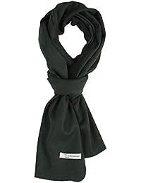 PuTian レディースマフラーウール 秋 冬 大判 おしゃれストール 暖かい マフラー 防寒 羊毛スカーフ ギフト箱つき
