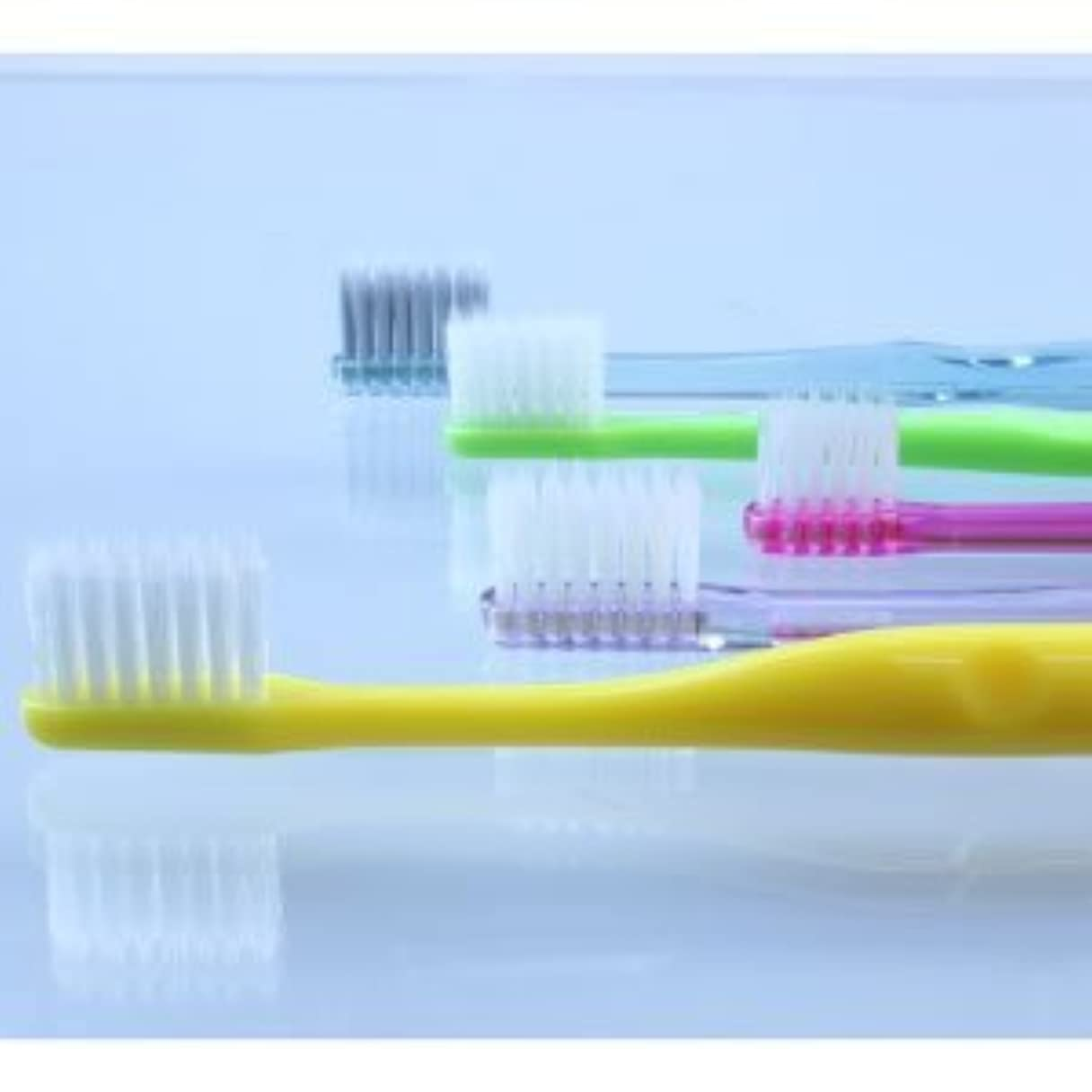 デコラティブシュートランチョン5種類の『超先細+フラット毛 歯ブラシ』お試しアソートセット