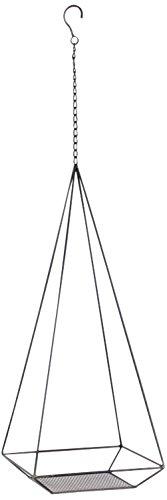 SPICE OF LIFE プラントハンガー アイアンハンギングデコレーション JARDIN FER ブラック スクエア Lサイズ 23×23×83cm CNGY4129CL