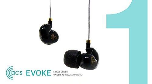 Evoke イヴォーク ユニバーサルフィット インナーイヤーモニター ACS-EVK-U04