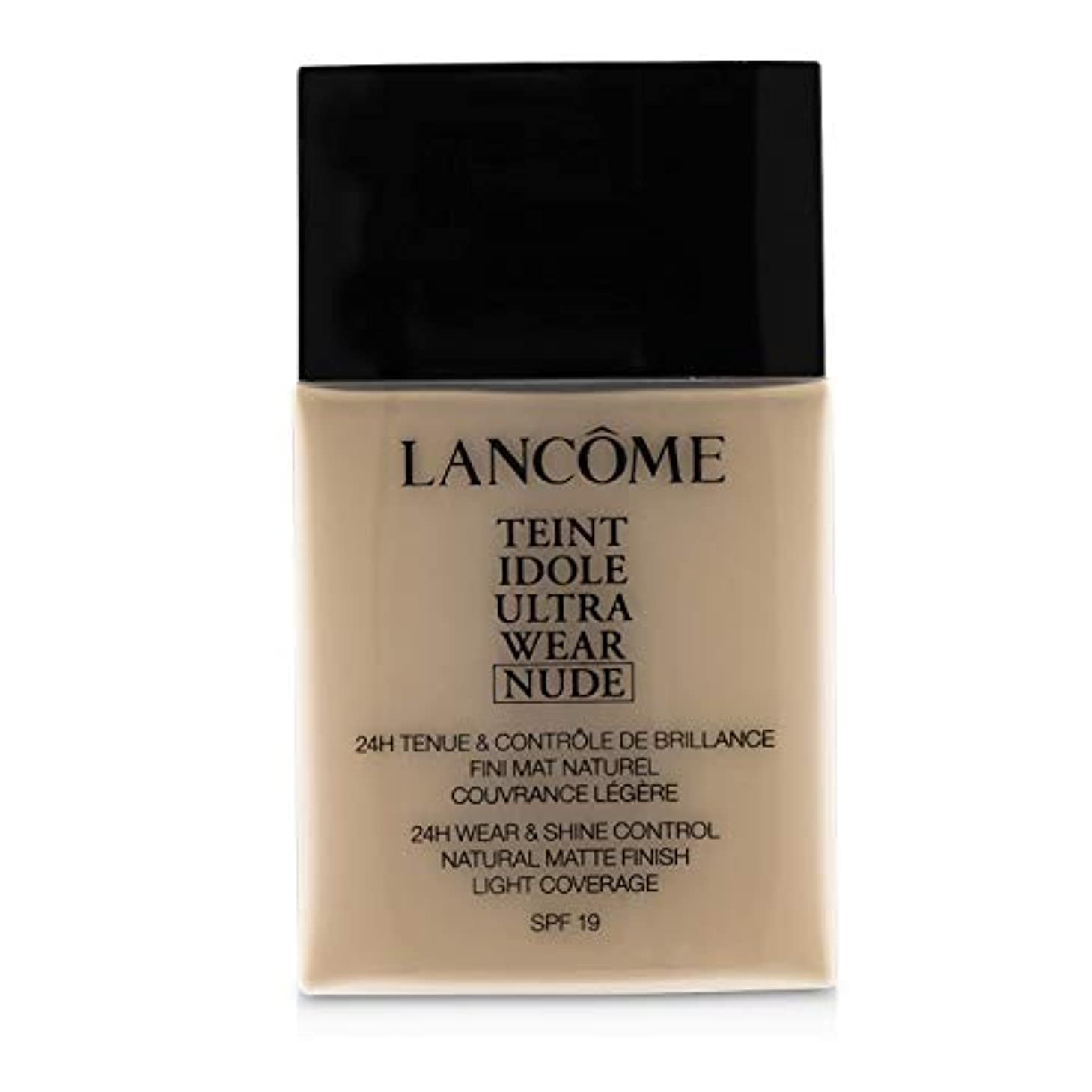無臭秋小数ランコム Teint Idole Ultra Wear Nude Foundation SPF19 - # 005 Beige Ivoire 40ml/1.3oz並行輸入品
