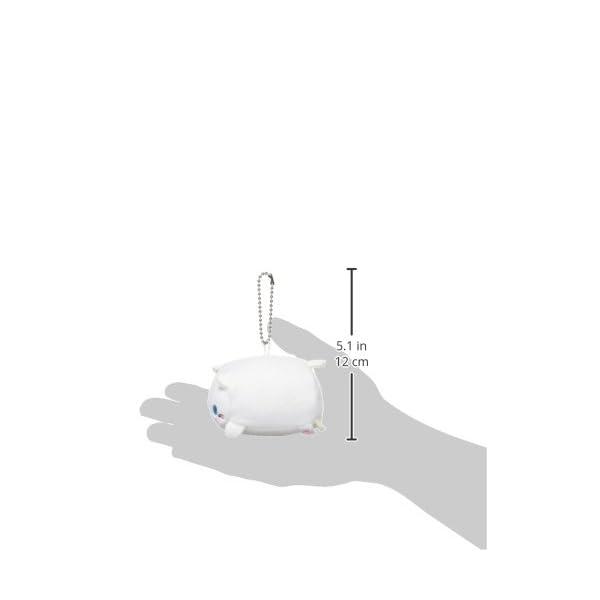 もっちぃずぅマスコット S シロネコの紹介画像3