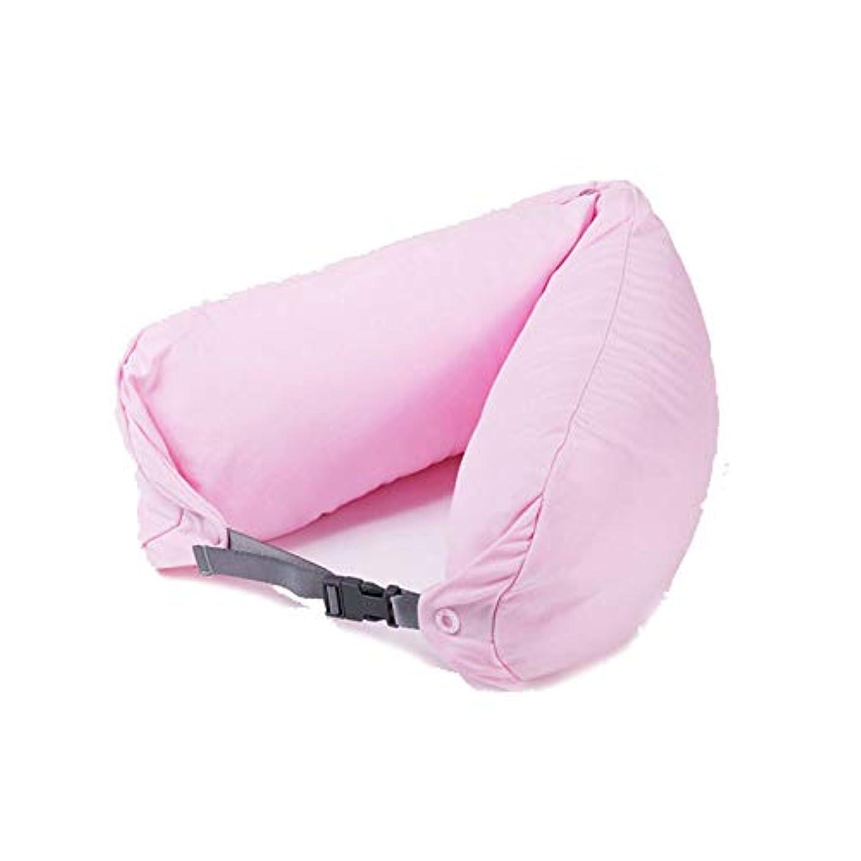 むちゃくちゃ真空喜びSMART ホームオフィス背もたれ椅子腰椎クッションカーシートネック枕 3D 低反発サポートバックマッサージウエストレスリビング枕 クッション 椅子