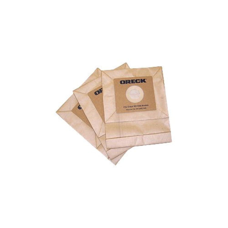 Oreck PK12MC1000 Lot de 12 sacs Filtrants Quest シリンダー Marron 4 l