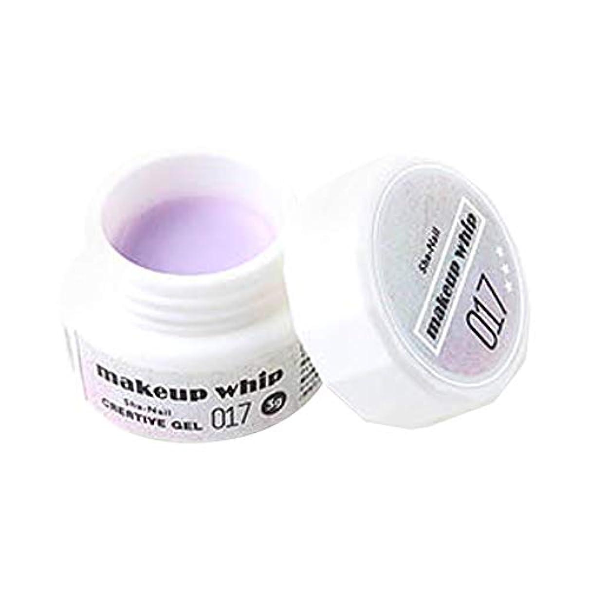 ヤギ一生レイアSha-Nail Creative Gel カラージェル 017 オーロラピンク 3g UV/LED対応