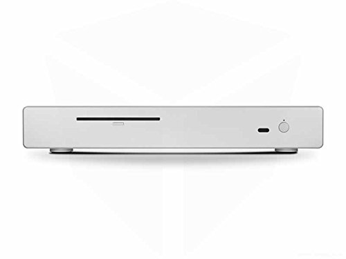 Streacom FC5 Silver ALPHA with Optical Drive Aluminium Fanless Chassis