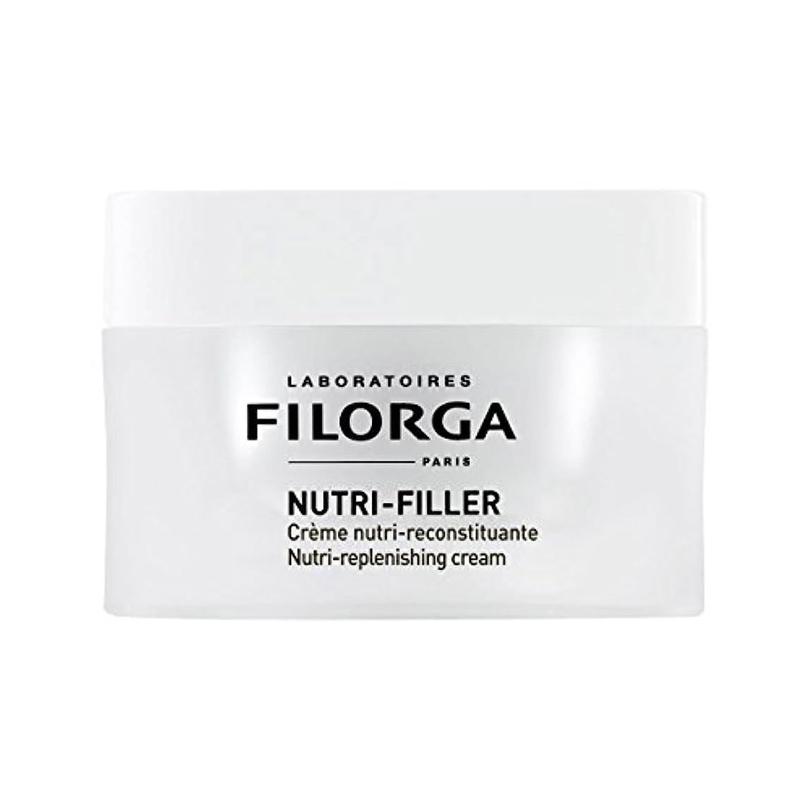 振る舞い瞳衰えるFilorga Nutri-filler Nutri-replenishing Cream 50ml [並行輸入品]