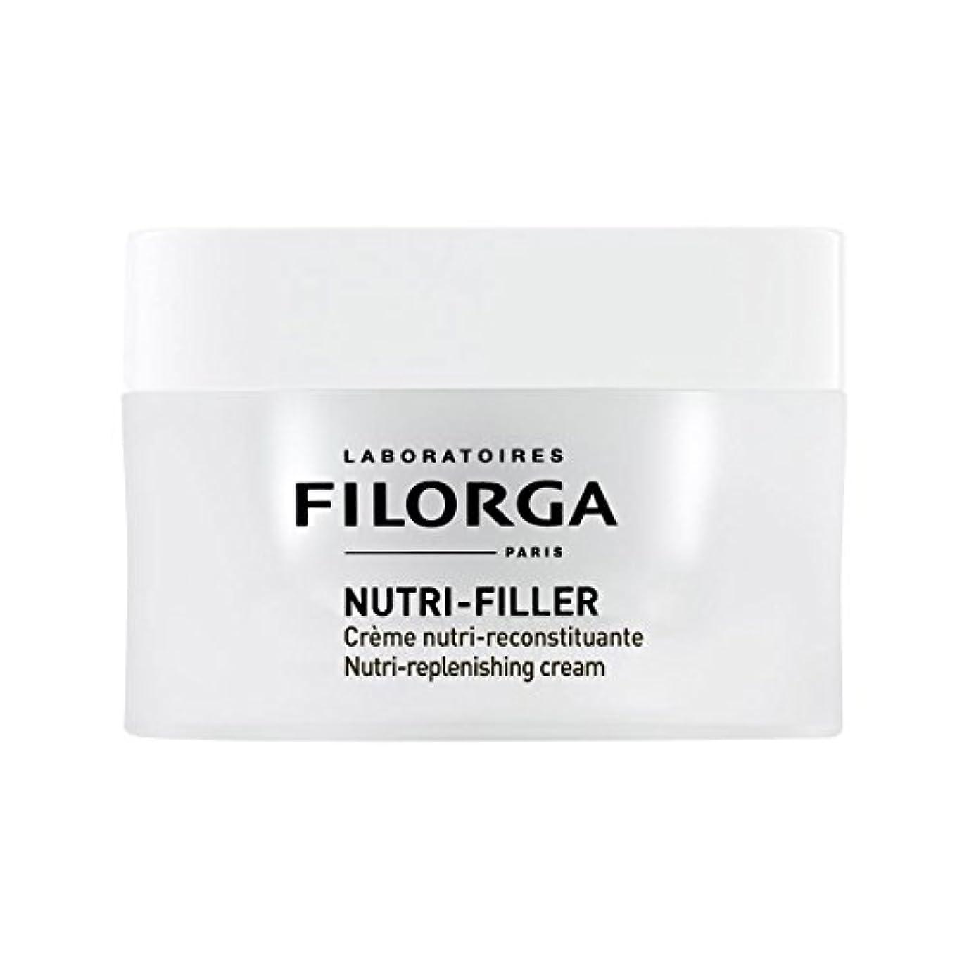 グリース文芸砲撃Filorga Nutri-filler Nutri-replenishing Cream 50ml [並行輸入品]