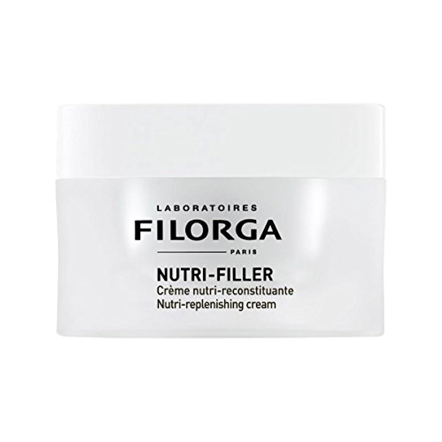 お猟犬ハイライトFilorga Nutri-filler Nutri-replenishing Cream 50ml [並行輸入品]