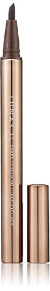 抽象化素晴らしき作動するルナソル シェイプデザイニングリクイドアイライナー02 Deep Brown アイライナー