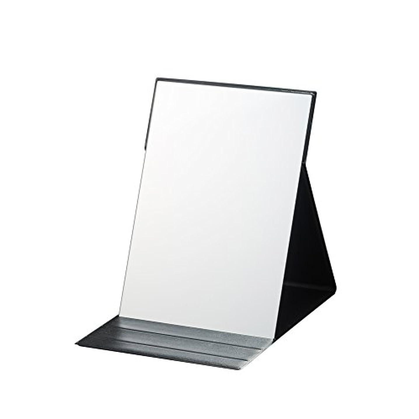 ナピュアミラー プロモデル折立ナピュアミラーLL ブラック AM-004BK