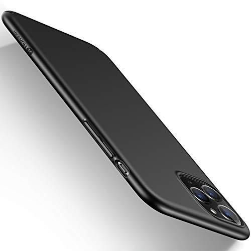 """Humixx iPhone 11 Pro ケース 薄型 PC素材 マット加工 指紋防止 傷防止(5.8"""")(ブラック)"""