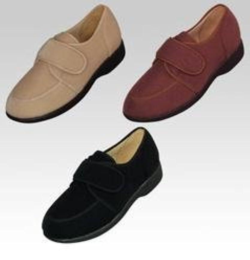 急降下するだろう中止しますマリアンヌ製靴 彩彩 ケアシューズ W701 (婦人用) ブラック 21.5cm