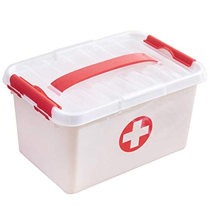エゴマニア彼女の周辺LLSDD 薬箱家の救急箱収納ボックス多層薬収納ボックスライトとポータブル