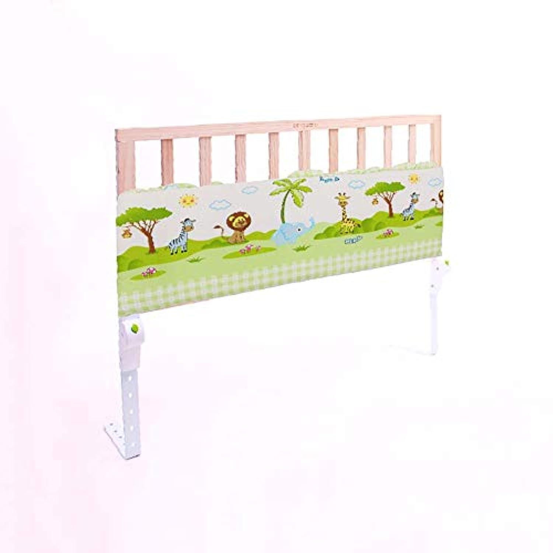 ベビーサークル ツインベッド、1.2 m折り畳み式ベビーベッドレール用幼児用ウッドベッドレールガード(1パック) (色 : Style-3)