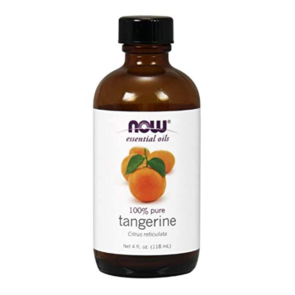 Now - Tangerine Oil 100% Pure 4 oz (118 ml) [並行輸入品]