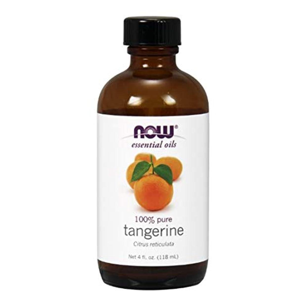 反対した乗算検出するNow - Tangerine Oil 100% Pure 4 oz (118 ml) [並行輸入品]
