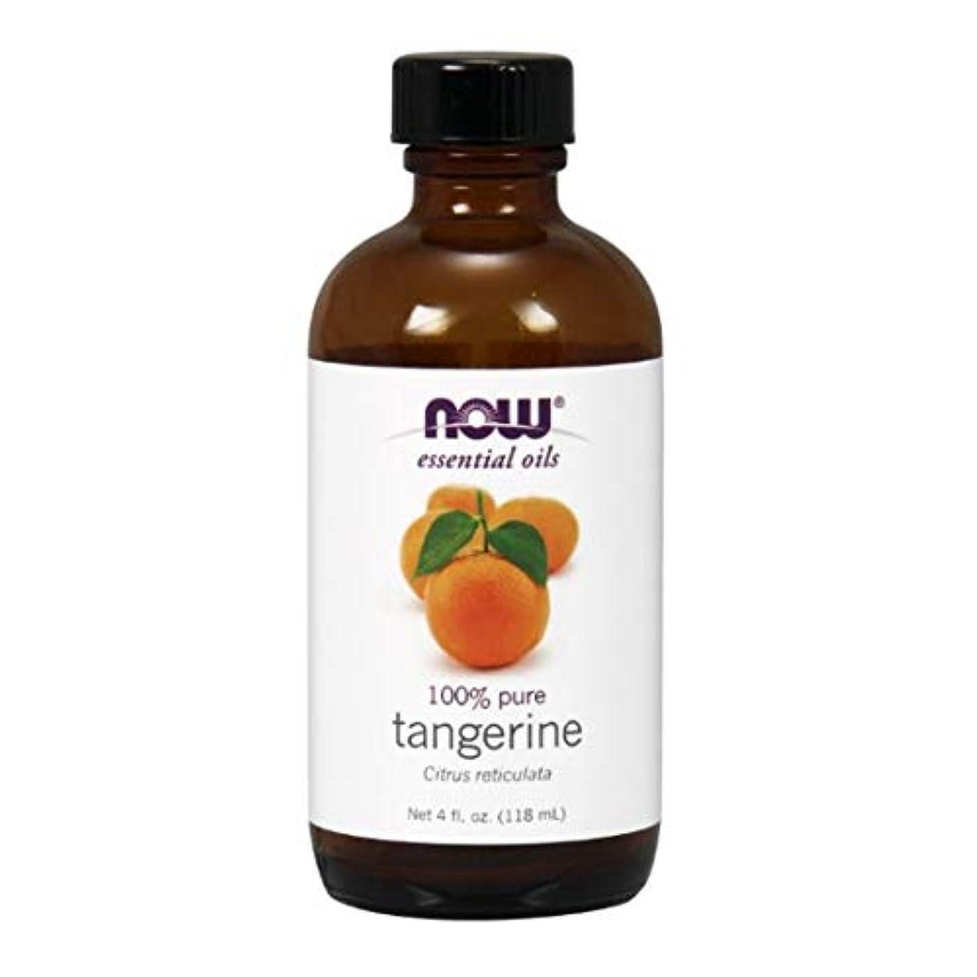 の間に出発する寛大なNow - Tangerine Oil 100% Pure 4 oz (118 ml) [並行輸入品]
