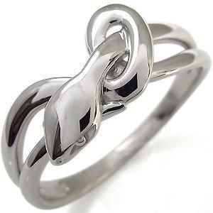 プレジュール プラチナ スネーク 蛇 リング メンズ 指輪 リングサイズ16号